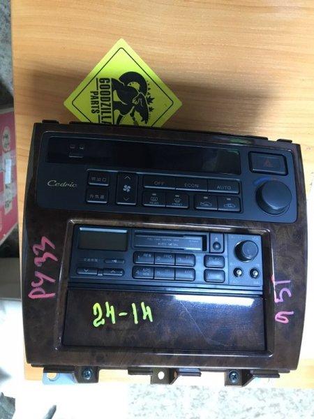 Блок управления климат-контролем Nissan Cedric PY33 1995 передний