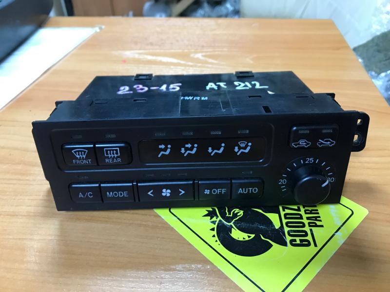 Блок управления климат-контролем Toyota Carina AT212 2000 передний