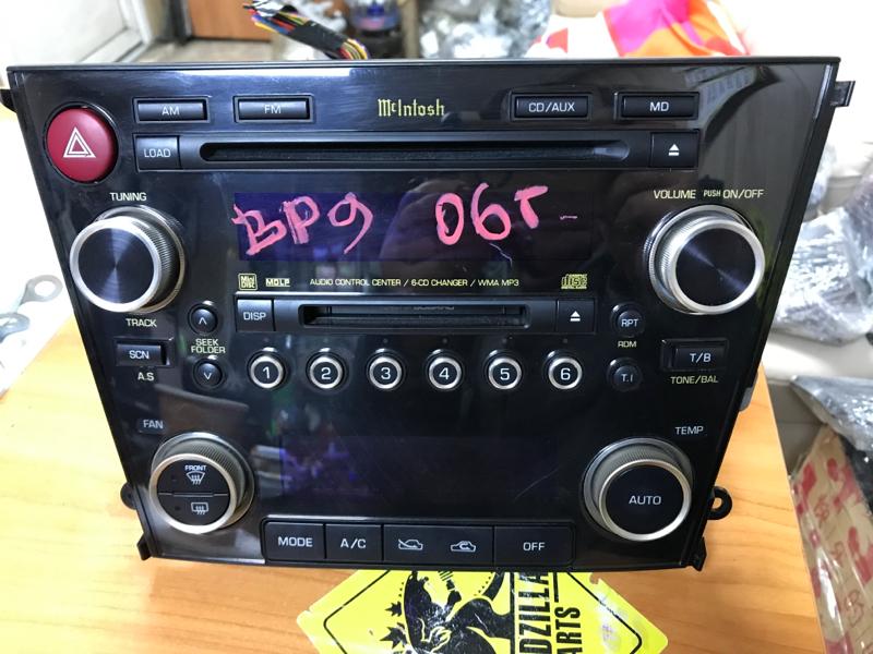 Магнитофон Subaru Outback BP9 2006 передний