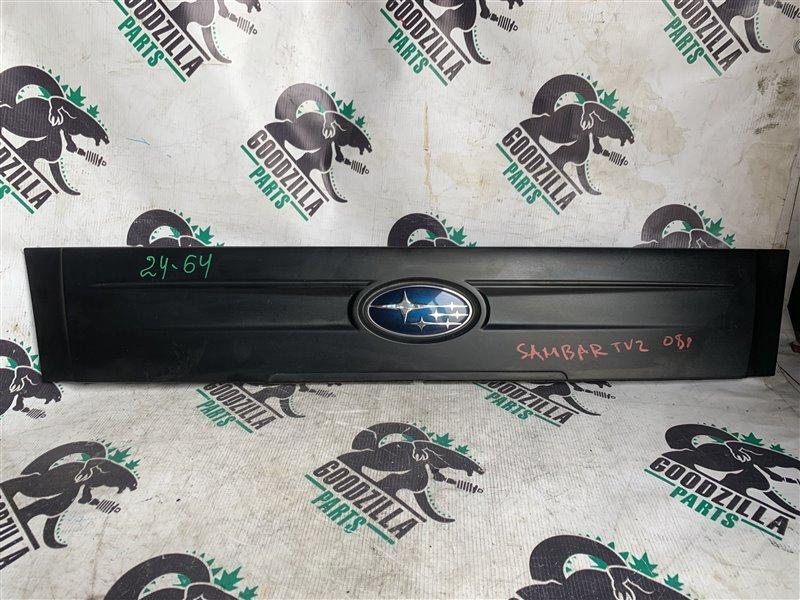 Решетка радиатора Subaru Sambar TV2 EN07 2008 передняя