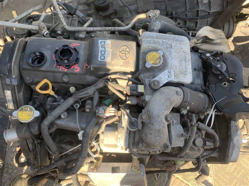 Двигатель Toyota Hiace KZH100G 1KZTE 2004