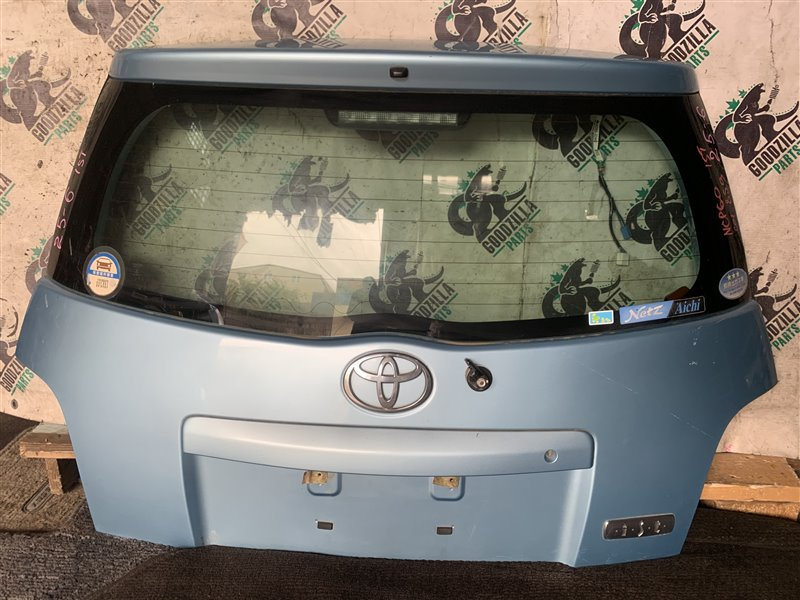 Дверь задняя Toyota Ist NCP60 задняя