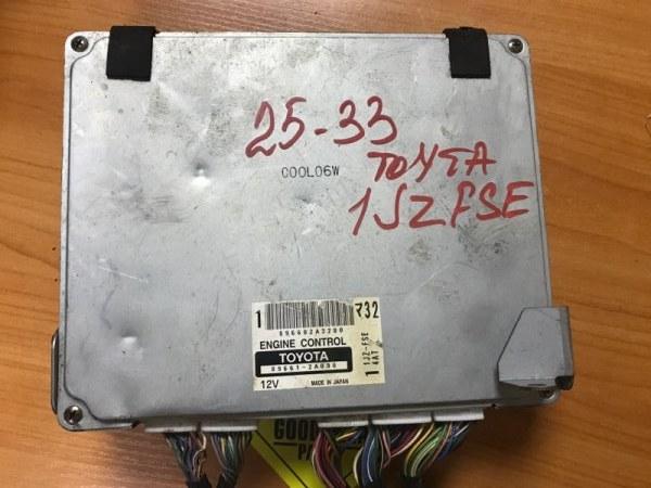 Блок управления efi Toyota Mark Ii JZX110 1JZFSE
