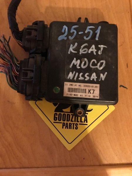 Блок управления Nissan Moco MG22S K6AT