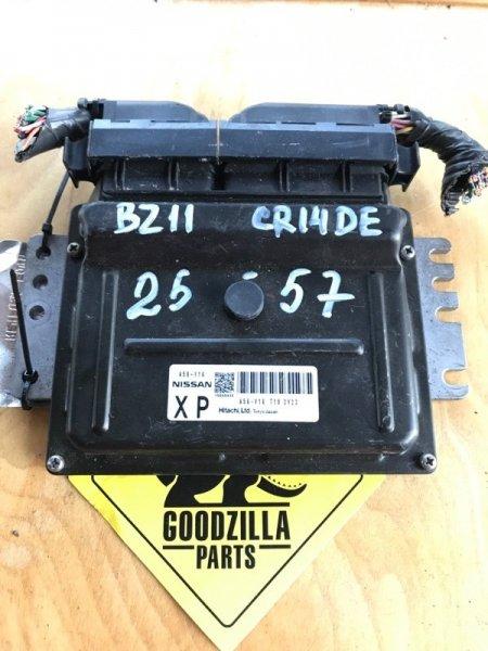 Блок управления efi Nissan Cube BZ11 CR14DE