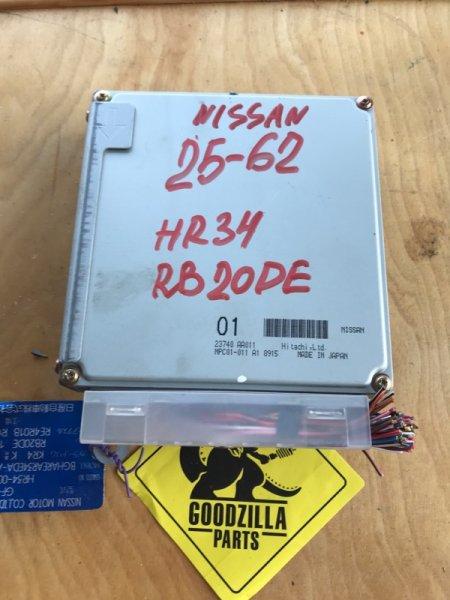 Блок управления efi Nissan Skyline HR34 RB20DE 1998