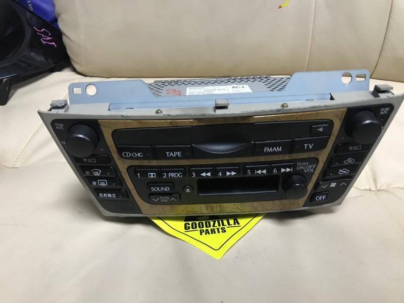 Магнитофон Nissan HY34 передний