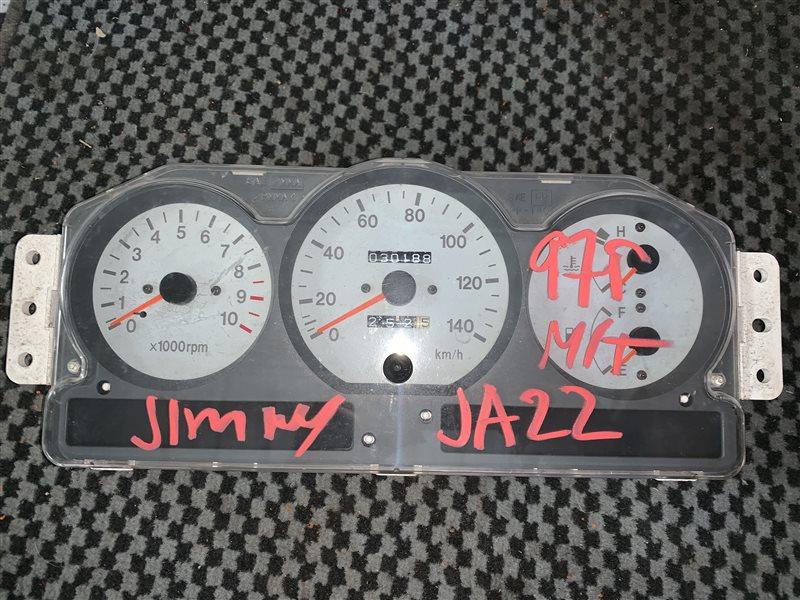 Спидометр Suzuki Jimny JA22W K6A 1997 передний