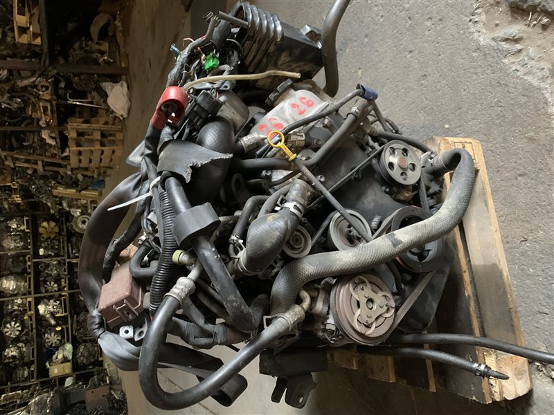Двигатель Suzuki Jimny JB23W K6A 1998