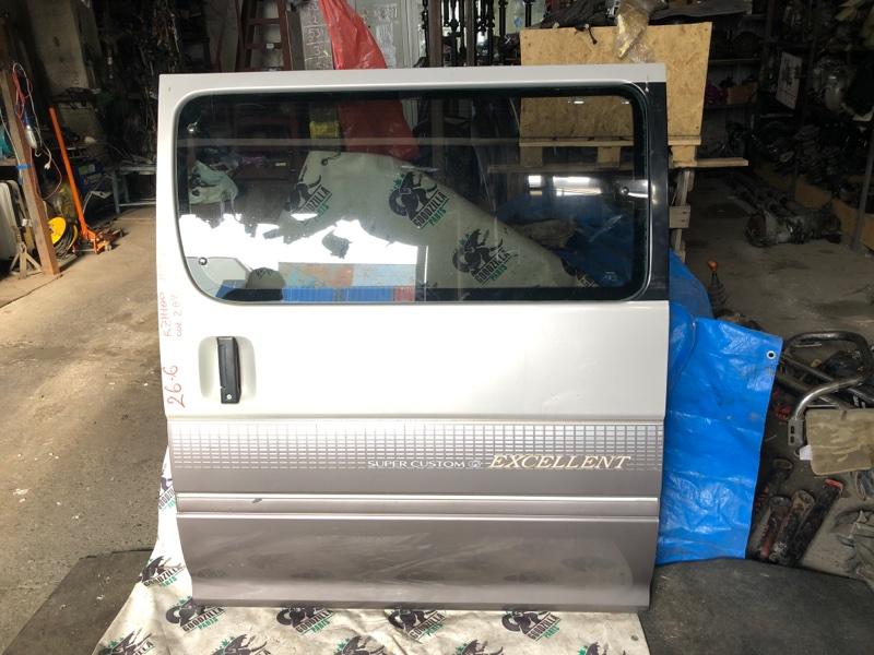 Дверь боковая Toyota Hiace KZH100 1998 левая