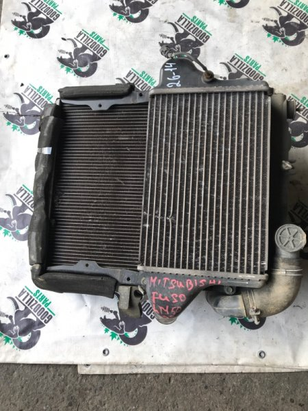 Радиатор основной Mitsubishi Fuso FE70DB 4M50 передний