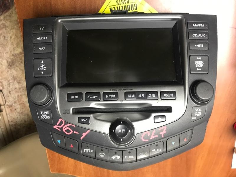 Блок управления климат-контролем Honda Accord CL7 K20A передний