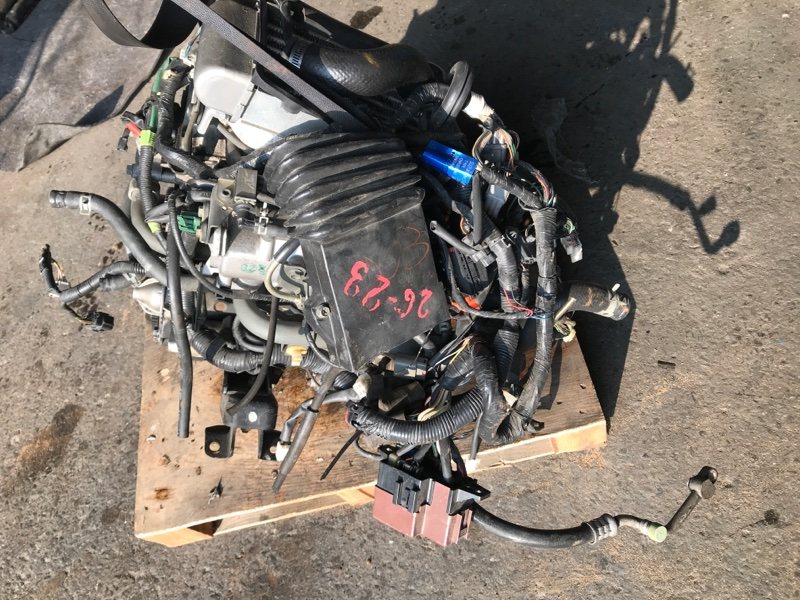 Двигатель Suzuki Jimny JB23W K6A 2001