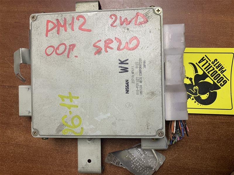 Блок управления efi Nissan Liberty PM12 SR20DE 2000