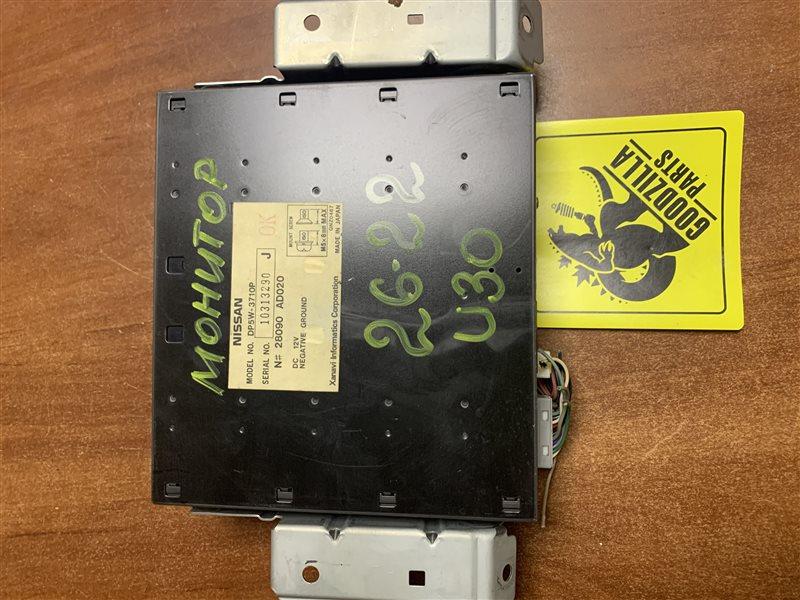 Монитор Nissan Presage U30 KA24DE 2001