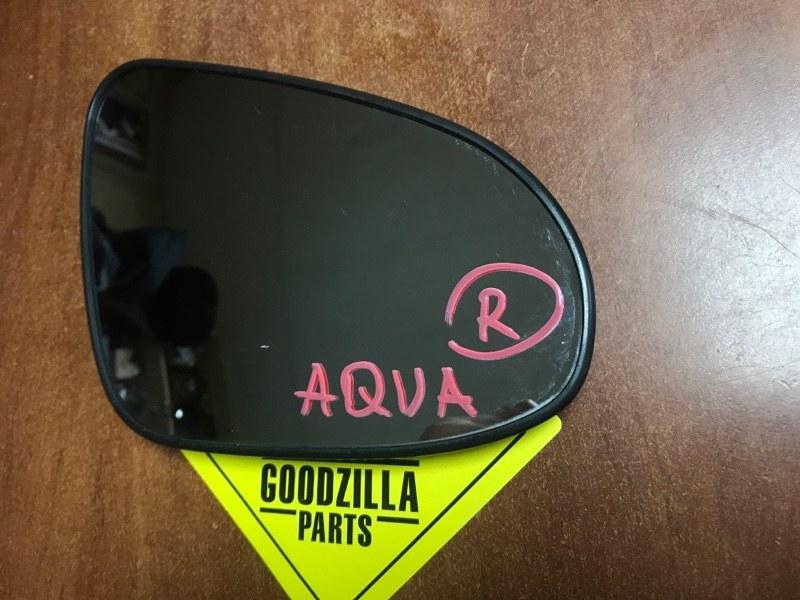 Зеркало-полотно Toyota Aqua NHP10 правое