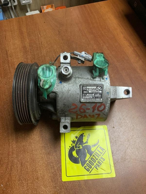 Компрессор кондиционера Nissan Dayz Roox B21A 3B30