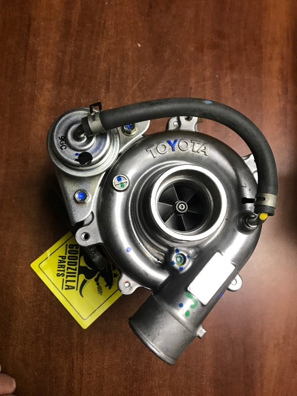 Турбина Toyota 1KDFTV