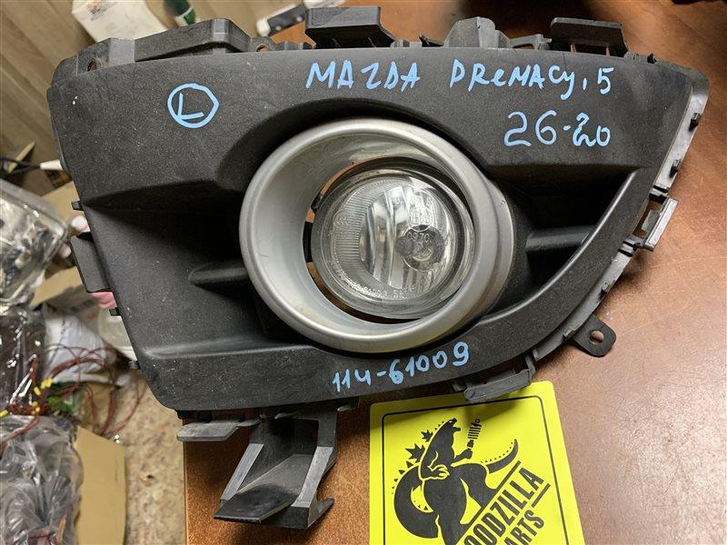 Туманка Mazda Premacy передняя левая
