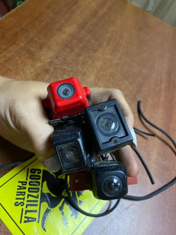Камера заднего вида Nissan задняя