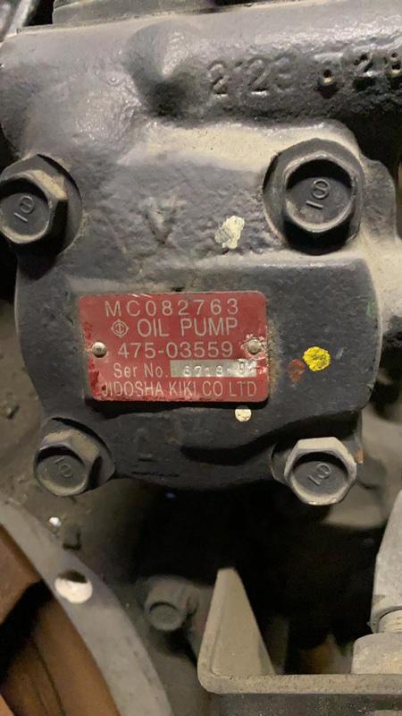 Гидроусилитель Mitsubishi Fuso FY54JY 6M70 2006