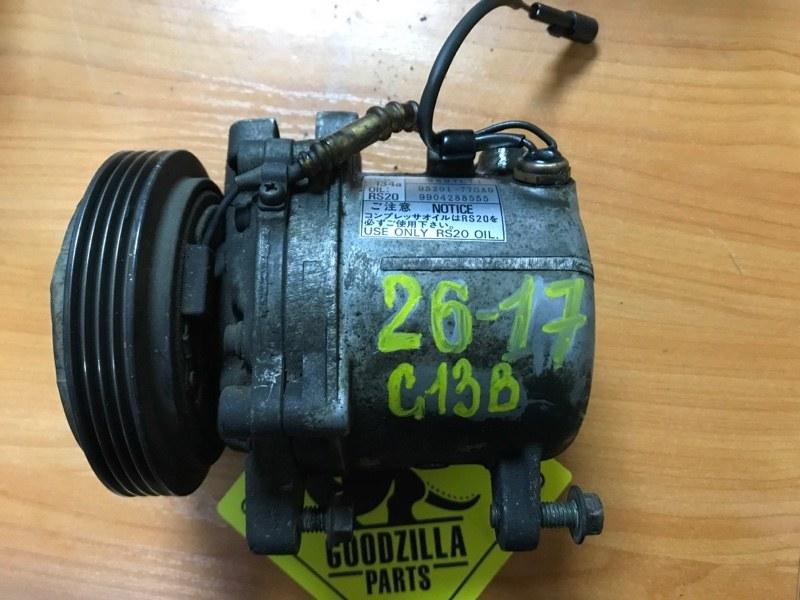 Компрессор кондиционера Suzuki Jimny JB33W G13B