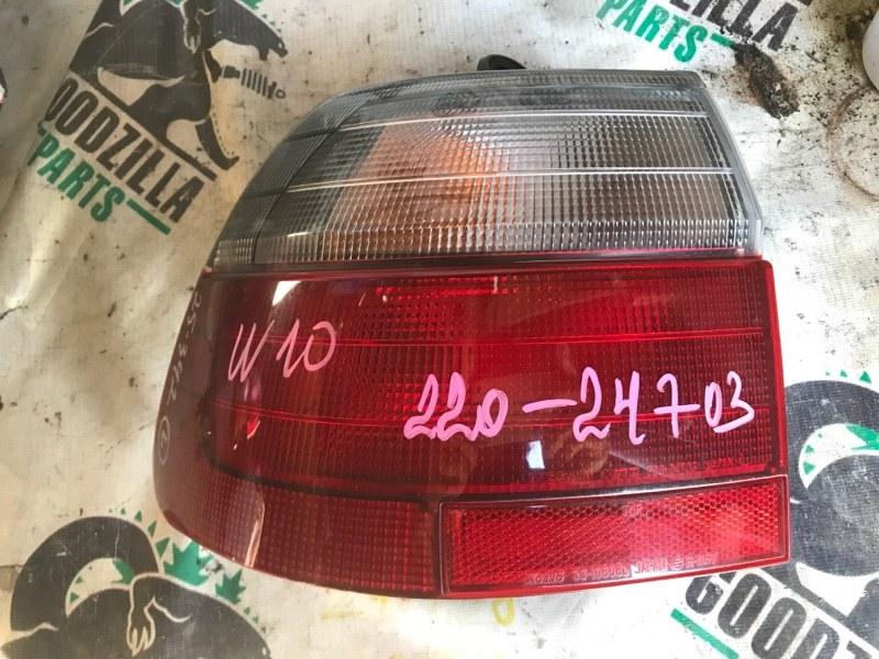 Стоп-сигнал Nissan Avenir W10 задний левый