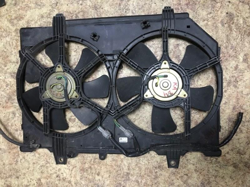 Вентилятор радиатора Nissan Rnessa PNN30 KA24DE передний