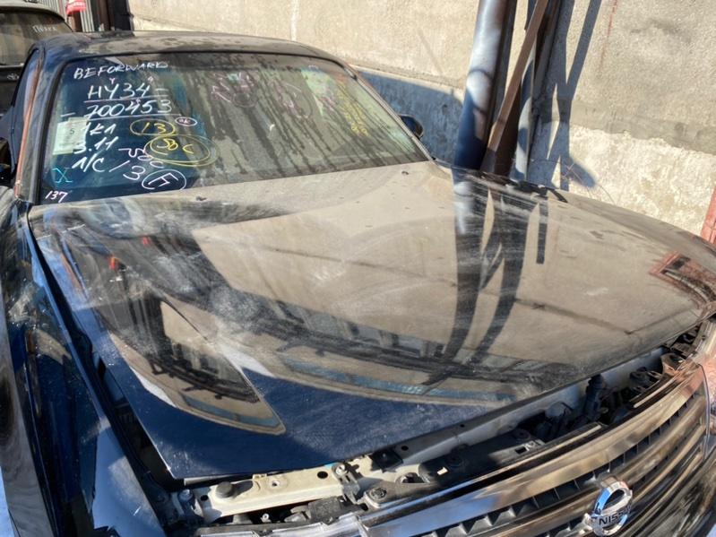 Капот Nissan Cedric HY34 2002 передний