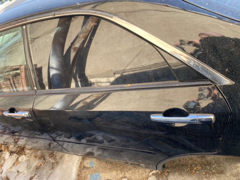 Дверь Nissan Cedric HY34 2002 задняя левая