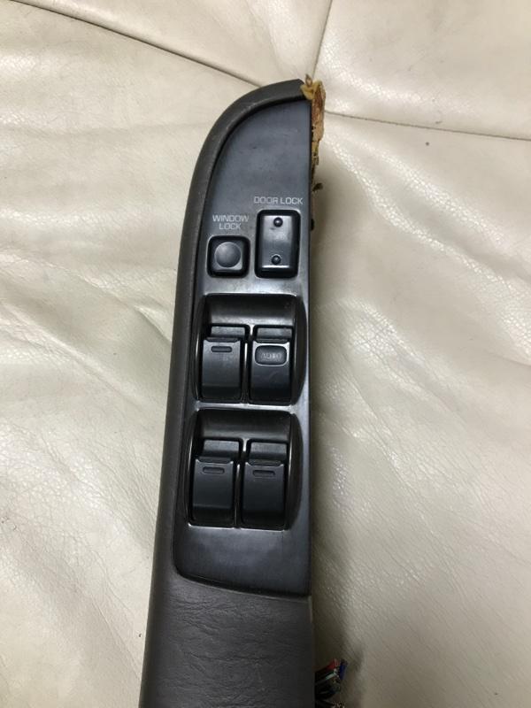 Блок управления стеклоподъемниками Toyota Mark Ii GX81 1GFE передний правый