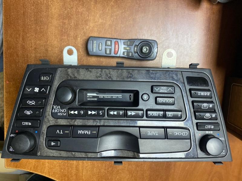 Магнитофон Nissan Gloria HY34