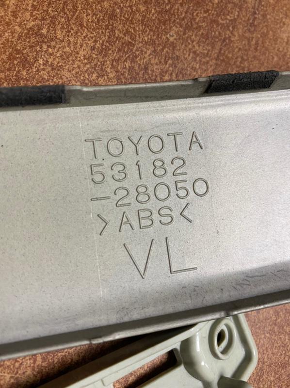 Планка на фару Toyota Voxy ZRR70 3ZRFE 2010 передняя