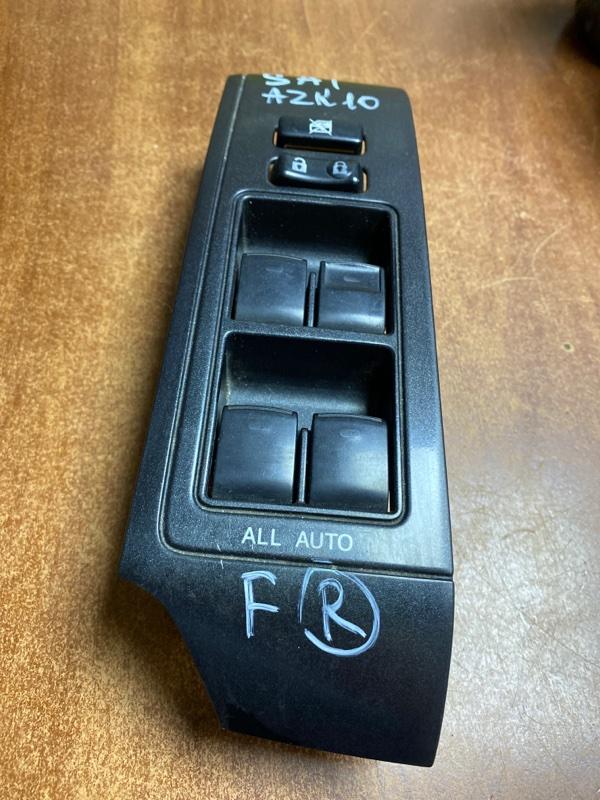 Блок управления стеклоподъемниками Toyota Sai AZK10 передний правый