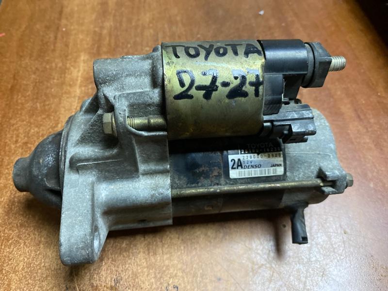 Стартер Toyota 7AFE передний