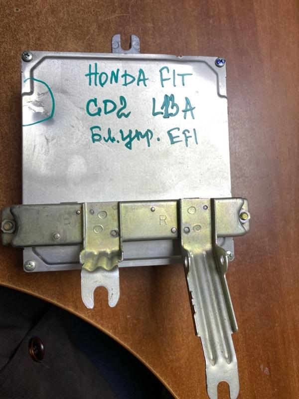 Блок управления efi Honda Fit GD2 L13A передний