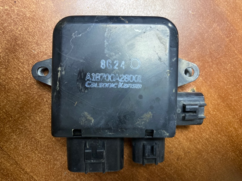 Блок управления вентилятором Nissan