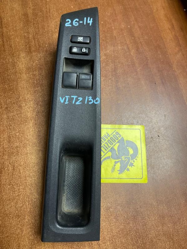 Блок управления стеклоподъемниками Toyota Vitz KSP130 передний правый