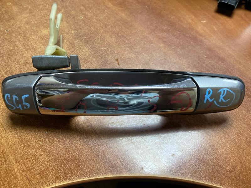 Ручка двери внешняя Subaru Forester SG5 задняя правая