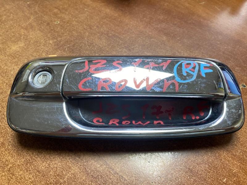 Ручка двери внешняя Toyota Crown JZS171 передняя правая