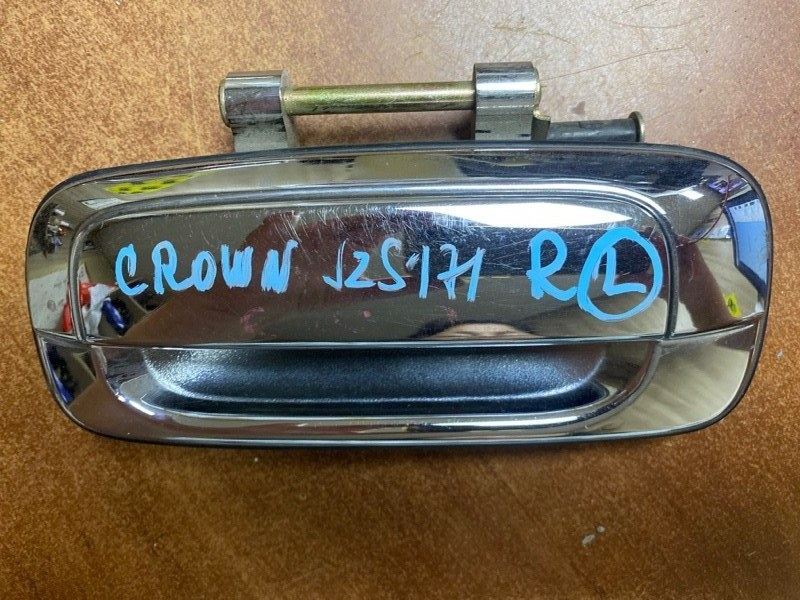 Ручка двери внешняя Toyota Crown JZS171 задняя левая