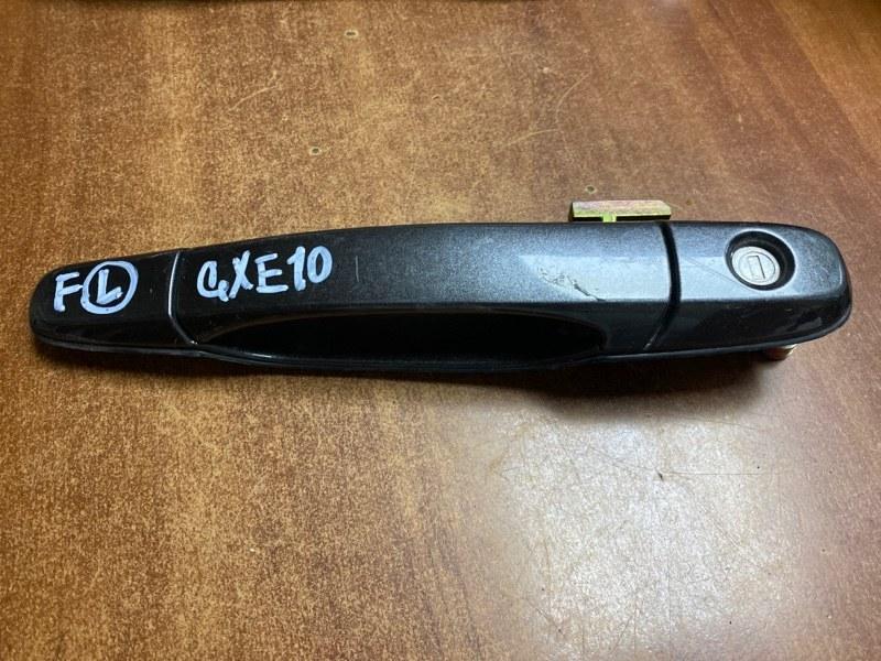 Ручка двери внешняя Toyota Altezza GXE10 передняя левая