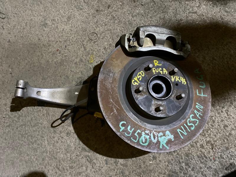 Ступица Nissan Fuga GY50 VK45DE передняя правая
