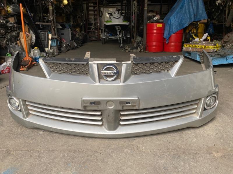 Бампер Nissan Wingroad WFY11 2003 передний