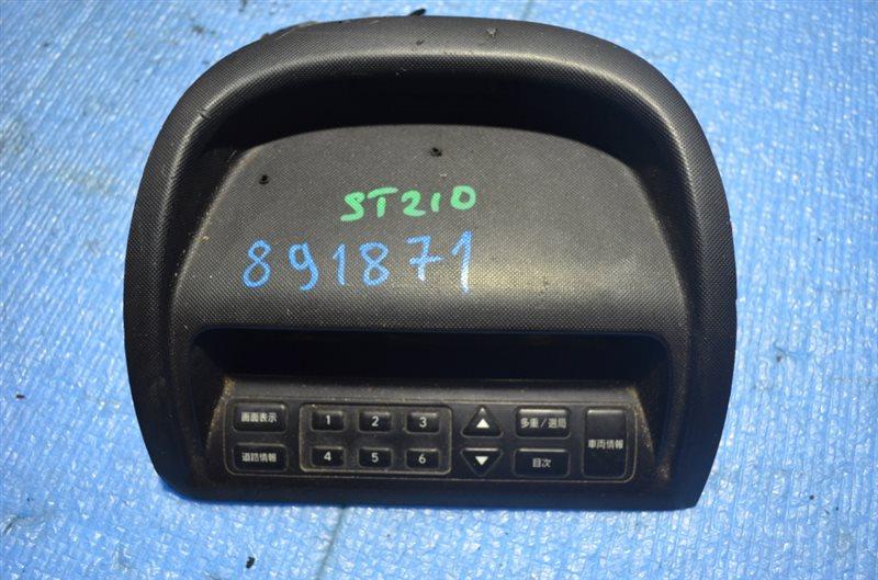Часы Toyota Caldina AT211 #891871