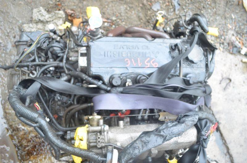 Двигатель Mitsubishi Fto DE2A 4G93 1995 #