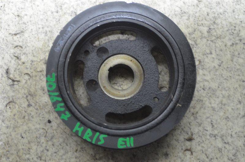 Шкив коленвала Nissan Note E11 HR15DE #701647