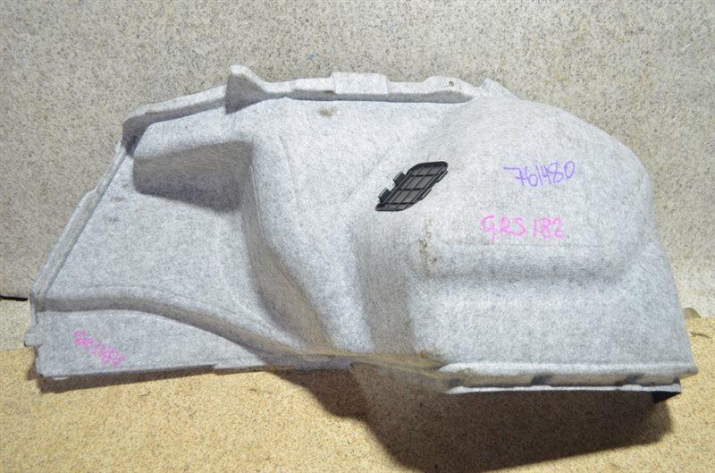 Обшивка багажника Toyota Crown GRS182 задняя левая #761480