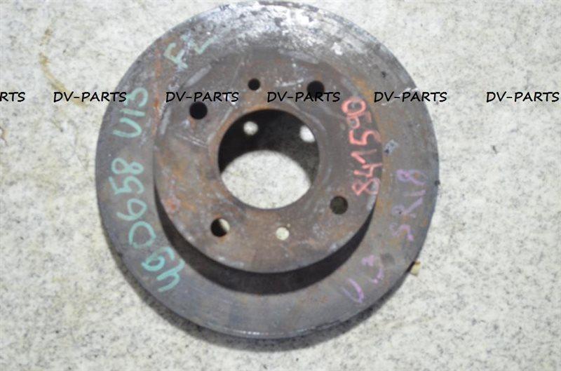 Тормозной диск Nissan Bluebird U13 SR18DE передний #841590
