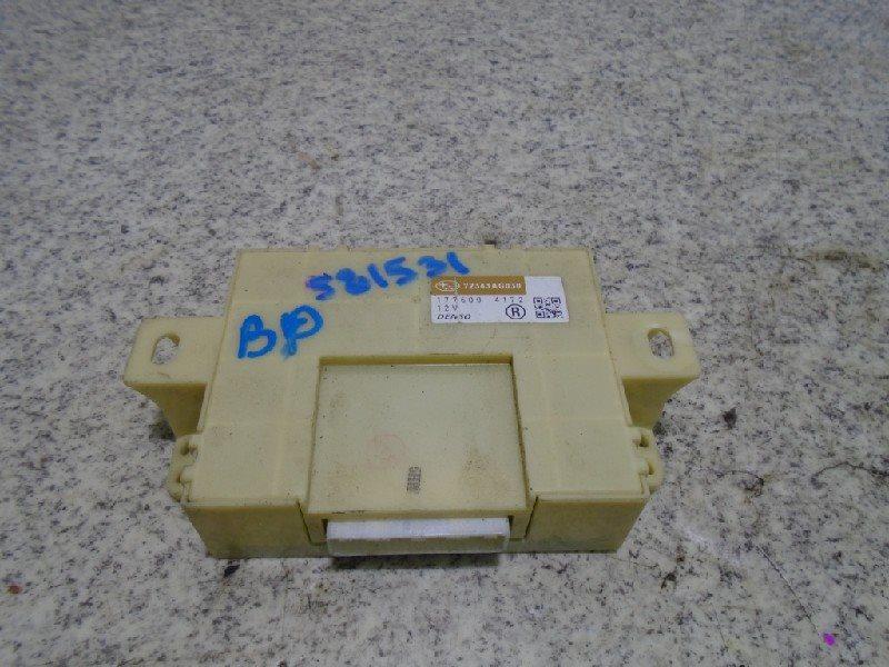 Блок управления климат-контролем Subaru Legacy BL5 #581531